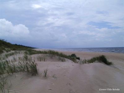 Kuoštrõg dunes.