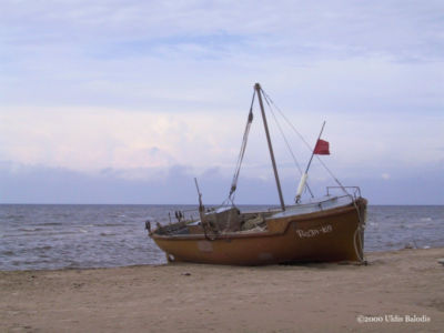 Sǟnag fishing boat.