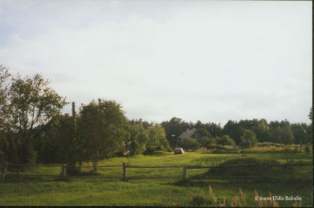 Sīkrõg village panorama.